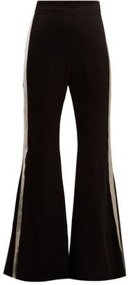 Ellery Lovedolls Wide-leg Satin Trousers - Black