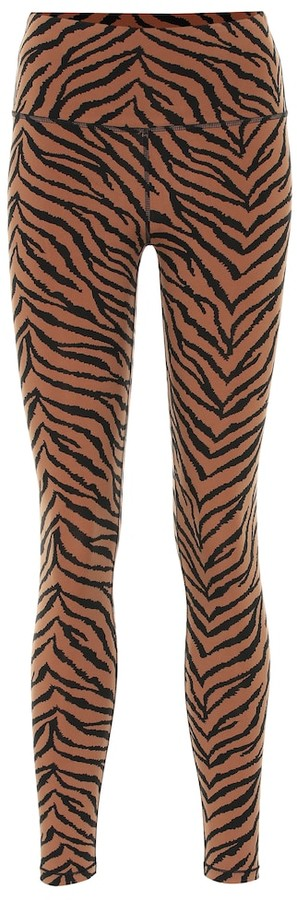 Varley Century zebra-print leggings