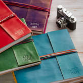 Paper High Personalised Handcrafted Three String Leather Albums