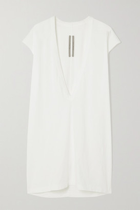 Rick Owens Dylan Cotton-jersey T-shirt - White