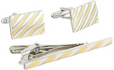 Stacy Adams Link and Tie Bar Set