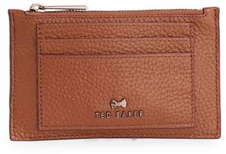 Ted Baker Yarro Leather Zip Card Holder