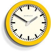 Newgate Clocks - The Andromeda Clock - Citrus Yellow