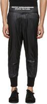 Niløs Black Taffetta Lounge Pants
