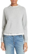 Rebecca Taylor Women's French Terry Pullover
