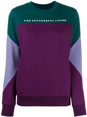 Diesel Phylosh colour block sweatshirt