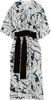 Cédric Charlier Printed twill dress