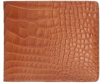 Jean Rousseau 'Hipster' alligator leather bi fold wallet