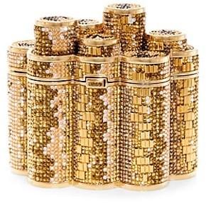 Judith Leiber Coins Crystal Clutch