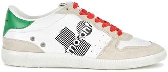 Isabel Marant Bulian white leather sneakers