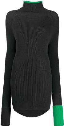 Y's rollneck knit sweater