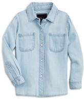 Rails Little Girls' Chambray Button-Down Shirt - Sizes 4-10