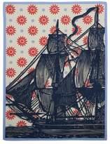 Thomas Paul Ship Vineyard Tea Towel