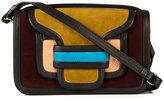 Pierre Hardy Alpha crossbody bag - women - Suede - One Size
