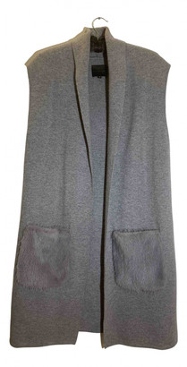 Hotel Particulier Grey Cashmere Coats