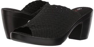 Bernie Mev. Sun Texas (Black) Women's 1-2 inch heel Shoes