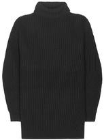 Acne Studios Isa Wool Sweater Dress
