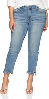 Lucky Brand Women's Size Plus MID Rise Ginger Skinny Jean in Thoreau 20W