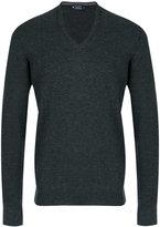 Hackett V-neck jumper - men - Merino/Silk/Cashmere - S