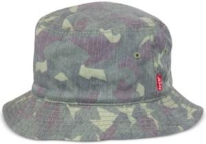 Levi's Men's Reversible Camo Bucket Hat