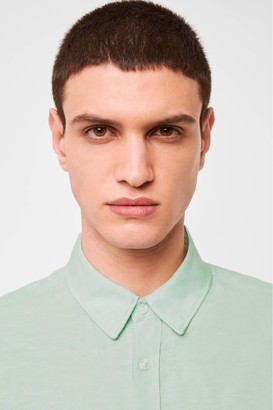 French Connenction Cotton Linen Slub Shirt