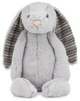Jellycat Large Bashful Blake Bunny Stuffed Animal, Gray