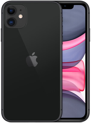 Apple iPhone 11 - 256GB Black - T-Mobile with installments plan)