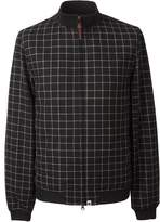 Pretty Green Check Bomber Jacket