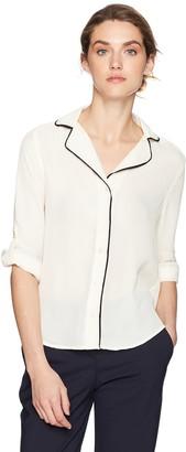 Blu Pepper Women's Long Sleeve Pajama Shirt