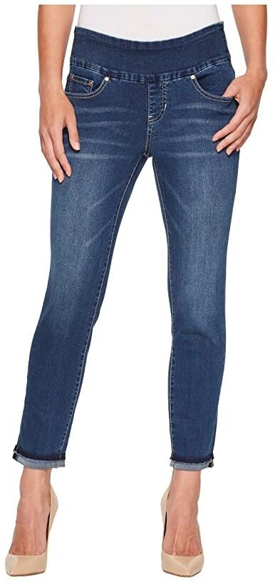 3a9fb0d3 Mid-rise Deep Blue Jeans - ShopStyle