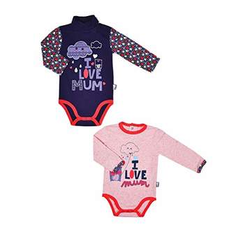 Camilla And Marc Mummy Set of 2 Baby Girls' Long-Sleeved Bodysuits - Size - 36 Months (98 cm)