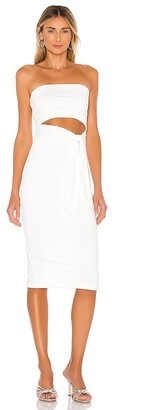 superdown Sheyla Tube Midi Dress