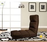 Serta Ninja Convertible Gaming Mat Futons Upholstery Color: Brown