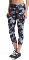 L.A. Gear Army Gray Capri Leggings