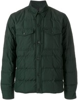 Ami Paris Snap-Buttonned Quilted Jacket