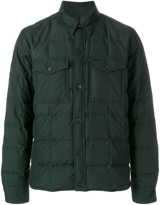 Ami Snap-Buttonned Quilted Jacket