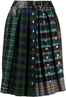Chopova Lowena High-Waisted Pleated Skirt