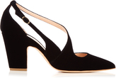 Rupert Sanderson Valet point-toe velvet pumps