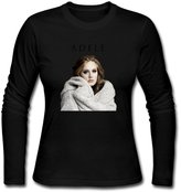 JACKMOUSERICE Women's Adele Someone Like You Long Sleeve T Shirt