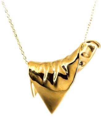 Plaitly Plie Pendant Draped Triangle Large