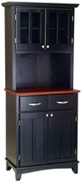 Home Styles Small Hutch Buffet - Cherry Top