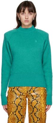 ATTICO Green Mohair Sweater
