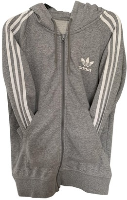 adidas Grey Synthetic Jackets