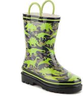 Western Chief Jurassic Dinos Toddler & Youth Rain Boot - Boy's