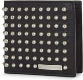 Alexander Mcqueen Leather Studded Wallet