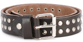 Paolo Pecora Kids - round studded belt - kids - Artificial Leather - 50 cm
