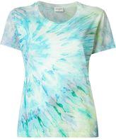 Saint Laurent tie dye print T-shirt