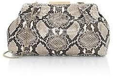 DeMellier Women's Florence Snakeskin-Embossed Leather Clutch