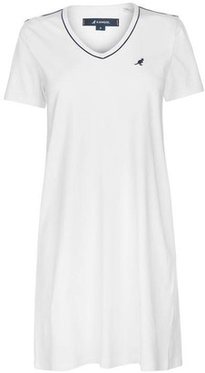 Kangol V Neck T Shirt Dress Ladies