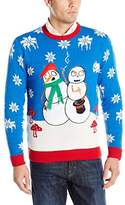 Blizzard Bay Men's Bad Trip Snowmen Ugly Christmas Sweater